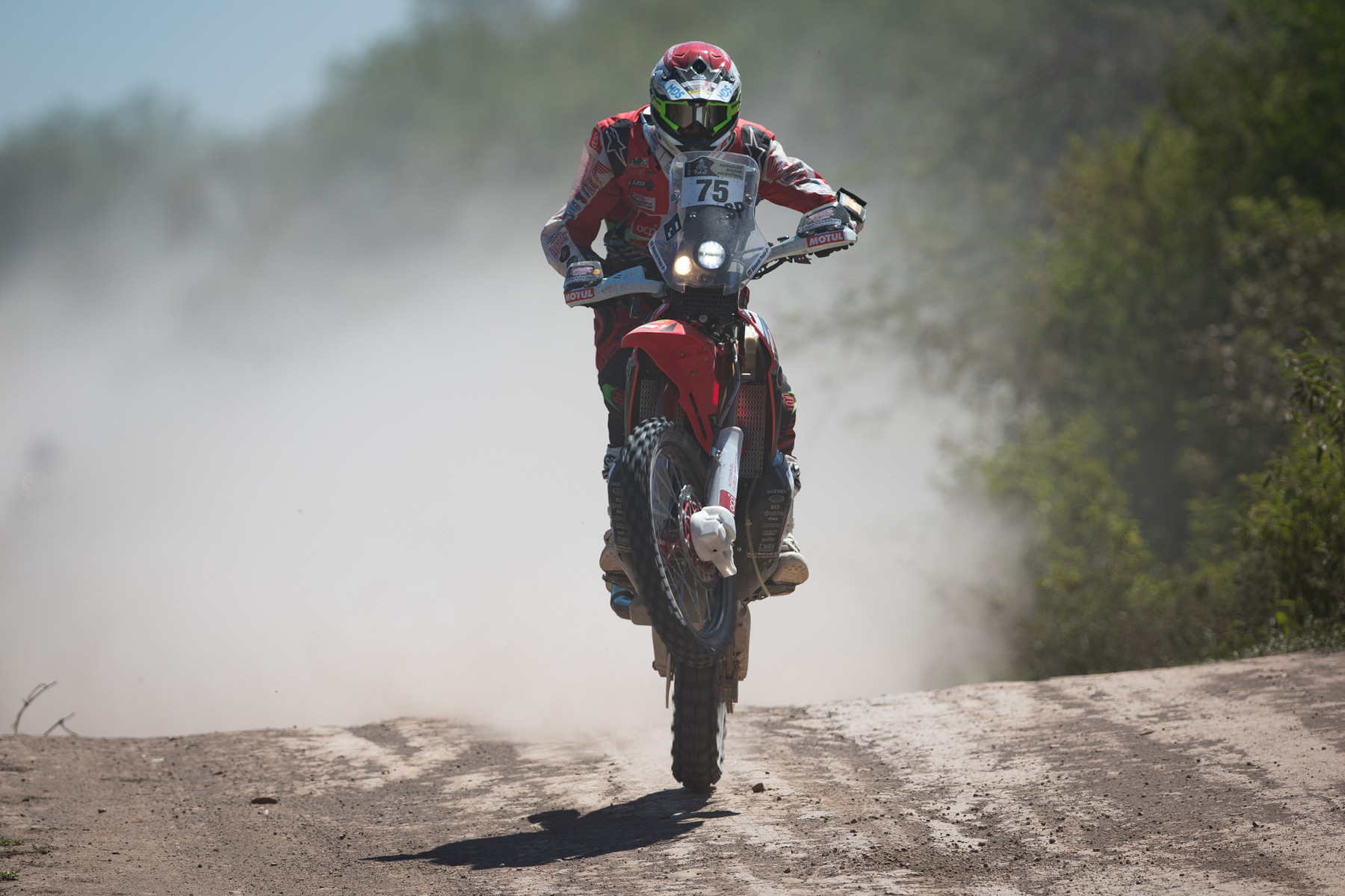 Pedro Bianchi Prata preparado para 2ª semana de Dakar