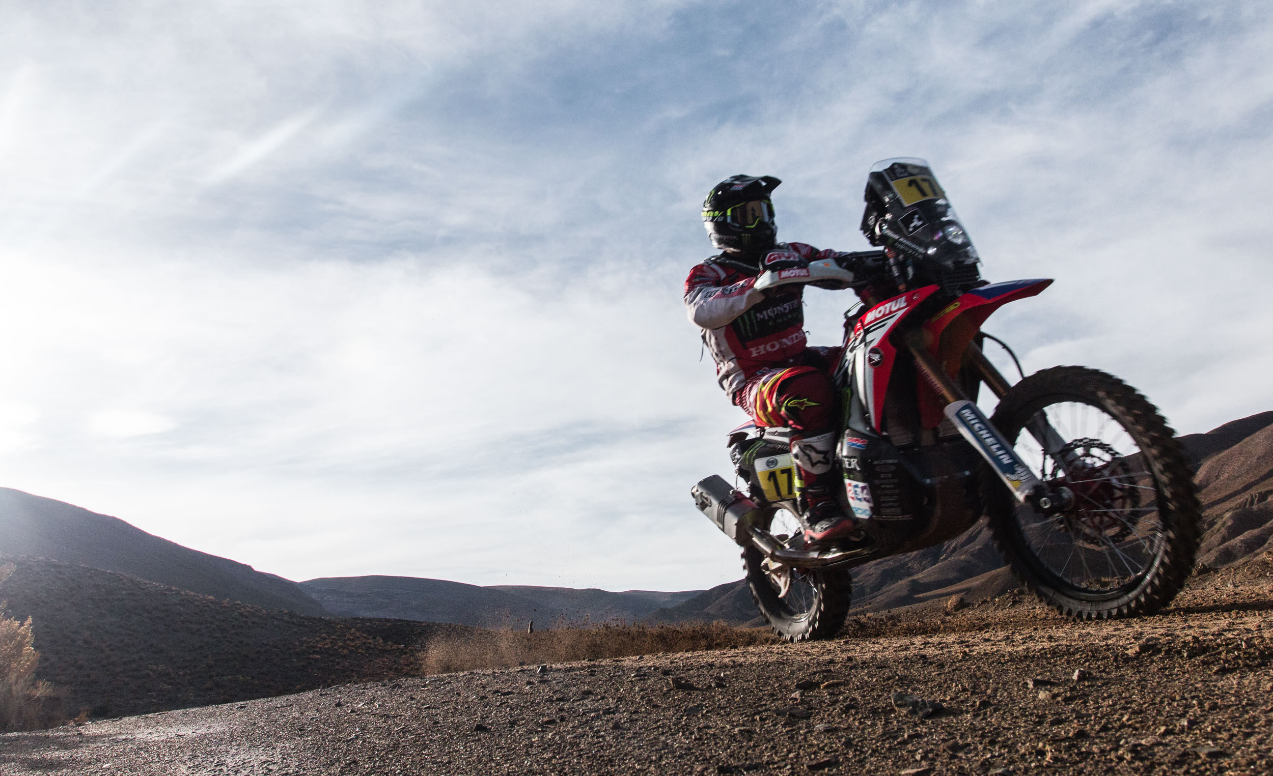 Gonçalves procurou vitória no recomeço do Dakar 2017
