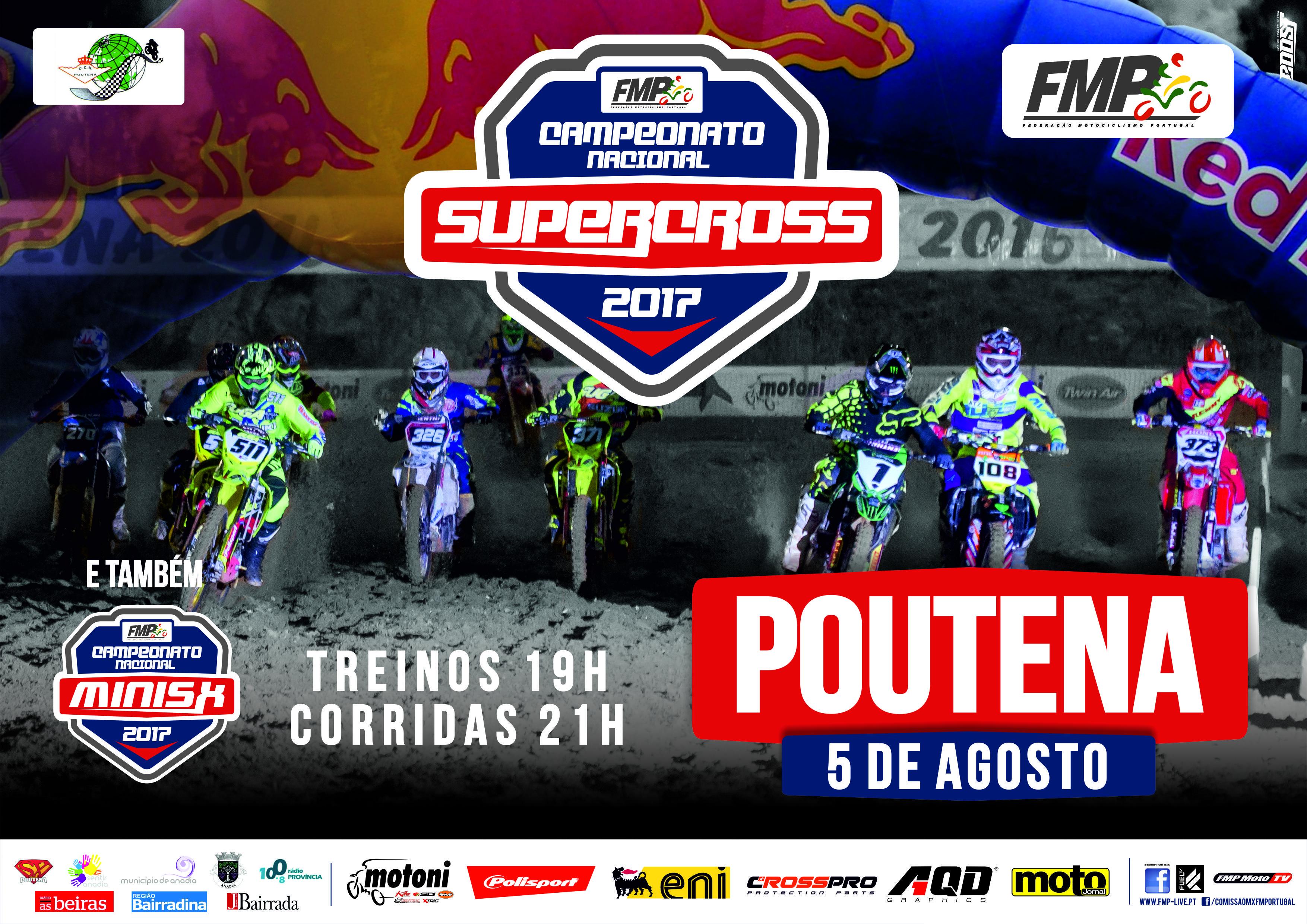 Nacional SX 2017 Campeonato chega à Poutena