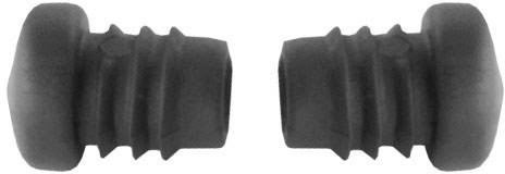 Borrachas do pedal do Cavalete Xtreme 16 (2un Pretas) - 2CP0820010A303.JPG