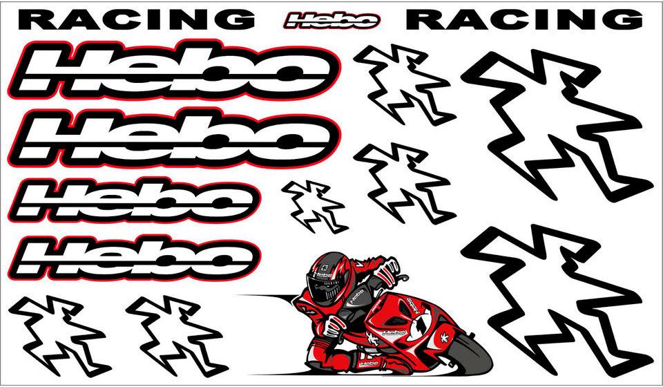 FOLHA KIT AUTOCOLANTES HEBO RACING TRIBAL - HM1230.JPG